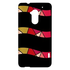 Abstract waves HTC One Max (T6) Hardshell Case