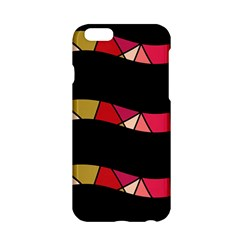 Abstract waves Apple iPhone 6/6S Hardshell Case