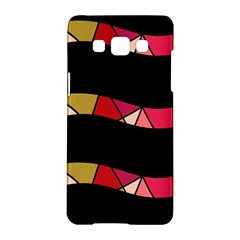 Abstract waves Samsung Galaxy A5 Hardshell Case
