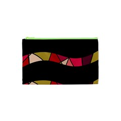 Abstract waves Cosmetic Bag (XS)