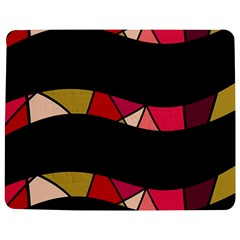 Abstract waves Jigsaw Puzzle Photo Stand (Rectangular)