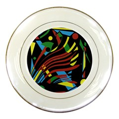 Optimistic abstraction Porcelain Plates