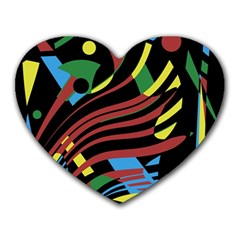 Optimistic abstraction Heart Mousepads