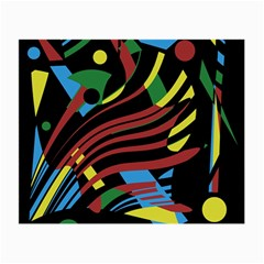 Optimistic abstraction Small Glasses Cloth (2-Side)