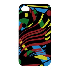 Optimistic abstraction Apple iPhone 4/4S Hardshell Case