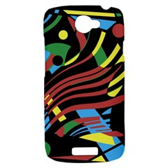 Optimistic abstraction HTC One S Hardshell Case