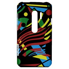 Optimistic abstraction HTC Evo 3D Hardshell Case