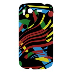Optimistic abstraction HTC Desire S Hardshell Case
