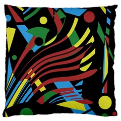 Optimistic abstraction Large Cushion Case (One Side)