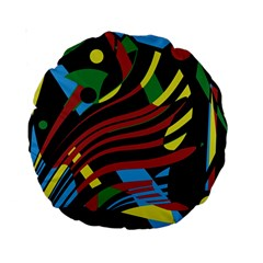 Optimistic abstraction Standard 15  Premium Round Cushions