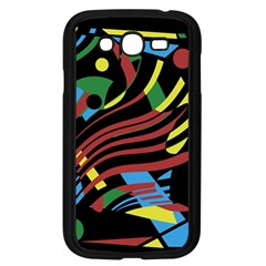 Optimistic abstraction Samsung Galaxy Grand DUOS I9082 Case (Black)