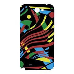 Optimistic abstraction Samsung Note 2 N7100 Hardshell Back Case