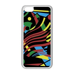 Optimistic abstraction Apple iPhone 5C Seamless Case (White)