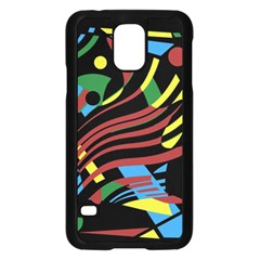 Optimistic abstraction Samsung Galaxy S5 Case (Black)