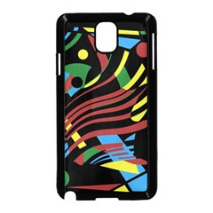 Optimistic abstraction Samsung Galaxy Note 3 Neo Hardshell Case (Black)