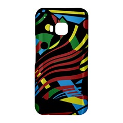 Optimistic abstraction HTC One M9 Hardshell Case