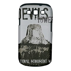 Devils Tower Stamp Samsung Galaxy S III Classic Hardshell Case (PC+Silicone)