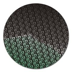 Wash Colville3 Magnet 5  (Round)