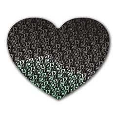 Wash Colville3 Heart Mousepads