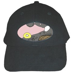 Decorative abstraction Black Cap