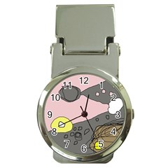 Decorative abstraction Money Clip Watches