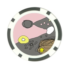 Decorative abstraction Poker Chip Card Guards (10 pack)