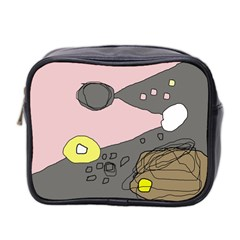 Decorative abstraction Mini Toiletries Bag 2-Side