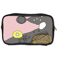 Decorative abstraction Toiletries Bags 2-Side