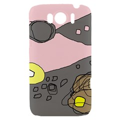 Decorative abstraction HTC Sensation XL Hardshell Case