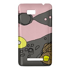 Decorative abstraction HTC One SU T528W Hardshell Case