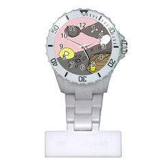 Decorative abstraction Plastic Nurses Watch