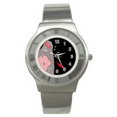 Crazy abstraction Stainless Steel Watch