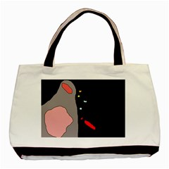 Crazy abstraction Basic Tote Bag