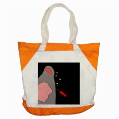 Crazy abstraction Accent Tote Bag