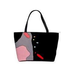 Crazy abstraction Shoulder Handbags