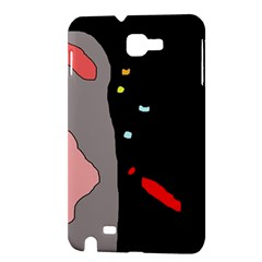 Crazy abstraction Samsung Galaxy Note 1 Hardshell Case