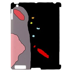 Crazy abstraction Apple iPad 2 Hardshell Case (Compatible with Smart Cover)