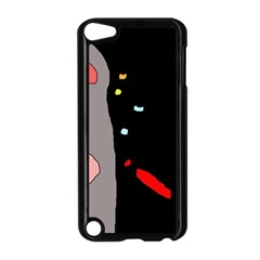 Crazy abstraction Apple iPod Touch 5 Case (Black)