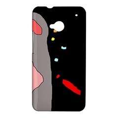 Crazy abstraction HTC One M7 Hardshell Case