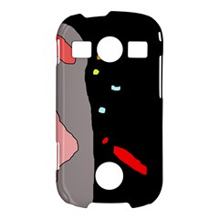 Crazy abstraction Samsung Galaxy S7710 Xcover 2 Hardshell Case