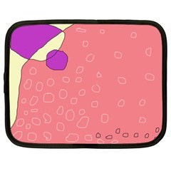 Pink Abstraction Netbook Case (xxl)