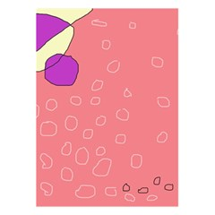 Pink abstraction 5.5  x 8.5  Notebooks