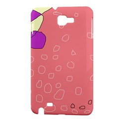 Pink abstraction Samsung Galaxy Note 1 Hardshell Case