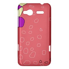 Pink abstraction HTC Radar Hardshell Case