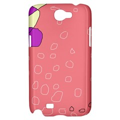 Pink abstraction Samsung Galaxy Note 2 Hardshell Case