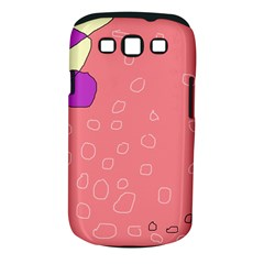 Pink abstraction Samsung Galaxy S III Classic Hardshell Case (PC+Silicone)