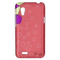 Pink abstraction HTC Desire VT (T328T) Hardshell Case