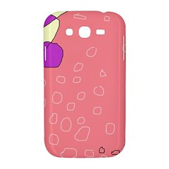 Pink abstraction Samsung Galaxy Grand DUOS I9082 Hardshell Case