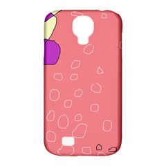 Pink abstraction Samsung Galaxy S4 Classic Hardshell Case (PC+Silicone)