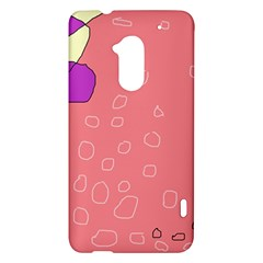 Pink abstraction HTC One Max (T6) Hardshell Case